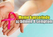 Meme kanseri az bilinen belirtileri neler?
