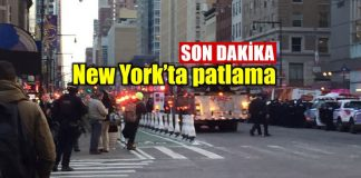 New York Times Meydanı patlama