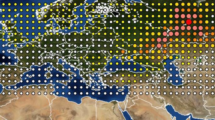 radyasyon rutenyum 106 etki haritası