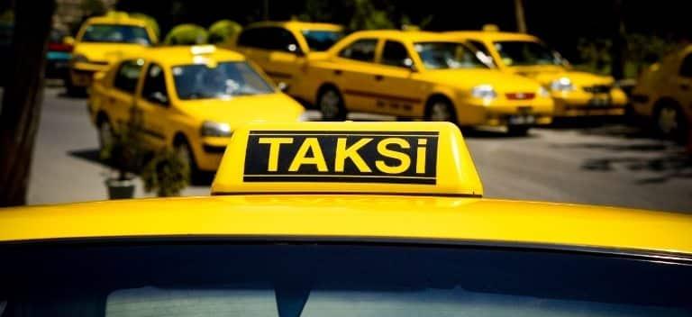 Taksimetre açmayan taksicilere 488 TL ceza