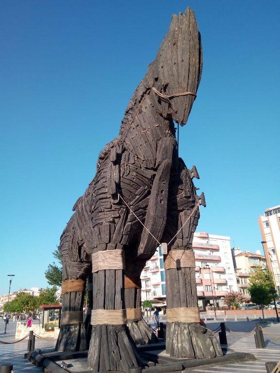 turuva atı Çanakkale truva atı trojen horse