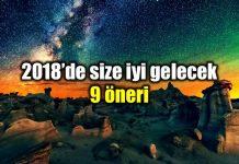 2018 için size iyi gelecek 9 öneri