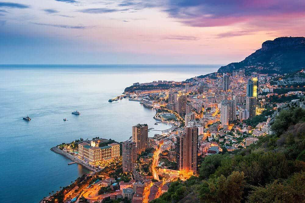 Fransa - Villefranche; Monaco / Monte Carlo