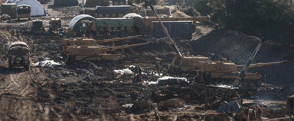 Afrin Harekatı'nda topçu birliklerimiz