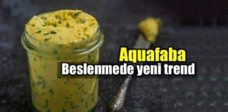 Aquafaba nedir? Beslenmede yeni trend