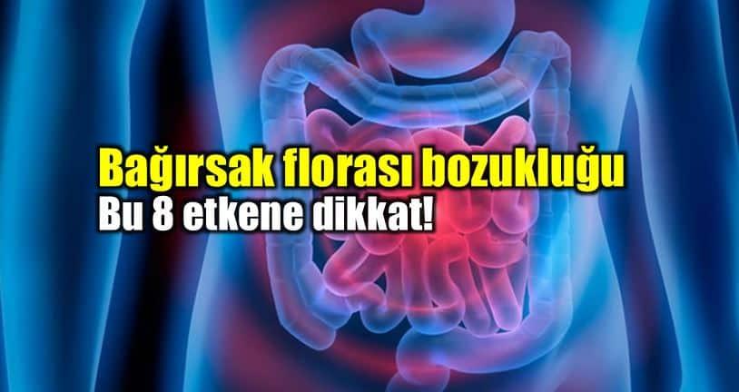 Bağırsak florası bozukluğu belirtileri ve tedavisi