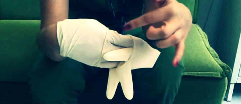 dicle üniversitesi hastanesi kadın doğum hiv hamile kadın bariyerli eldiven