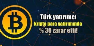 Türkiye'de blockchain kripto para yatırımı: Yüzde 30 zarar!