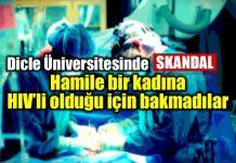 dicle üniversitesi hamile hiv kadın bariyerli eldiven