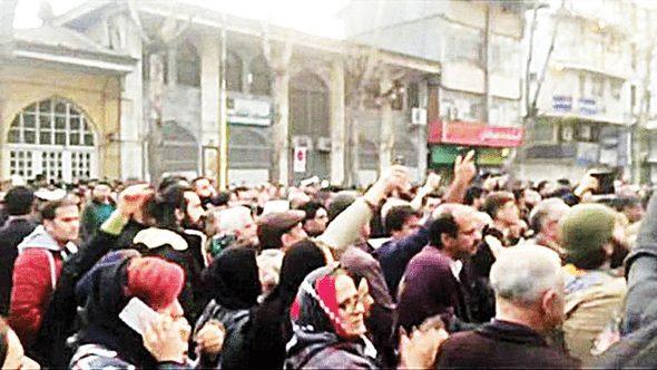 iran protesto eylemler son görüntüler video fotoğraf