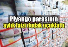 Milli Piyango parası aylık faizi dudak uçuklattı banka murat tokmak antalya