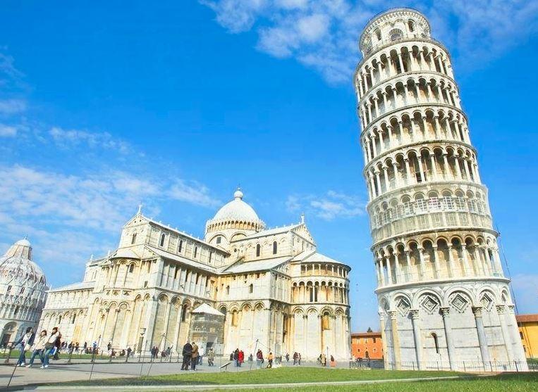 pisa tower piza kulesi