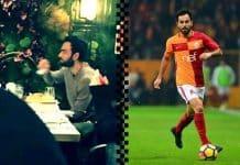 Galatasaraylı Selçuk İnan rakı içerken görüntülenmiş ne büyük facia!