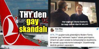 THY skandal: Gay eşcinsel kelimesini sapkın olarak çevirdi