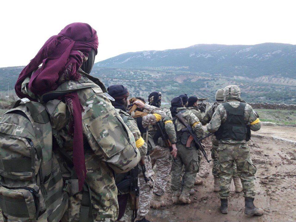 afrin zeytin dalı harekatı tsk türk askeri tanklar