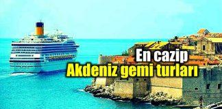 Ucuz gemi turları: En ucuz Akdeniz gemi turu