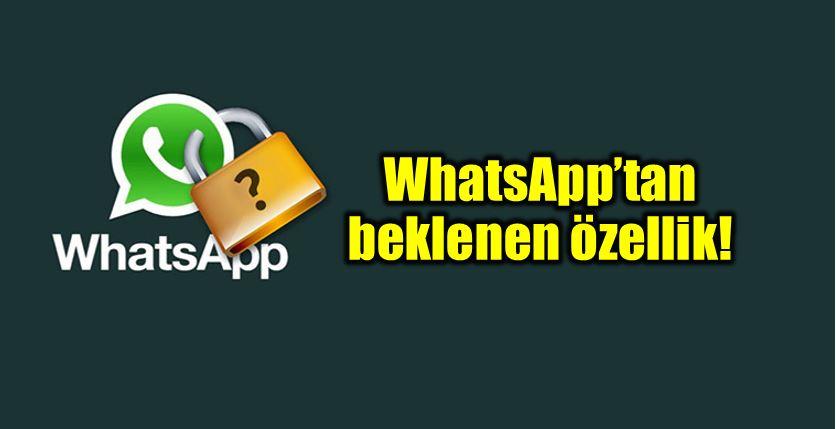 WhatsApp gereksiz mesajları engelleme özelliği