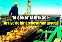 14 şeker fabrikası: Türkiye bir özelleştirme gerçeği