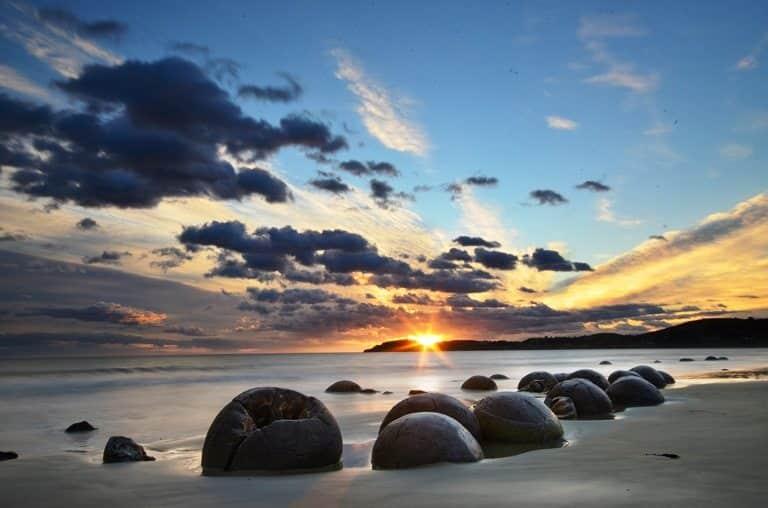 Moeraki Kayaları, Yeni Zelanda