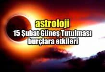 Astroloji: Kova burcu güneş tutulması burç yorumları