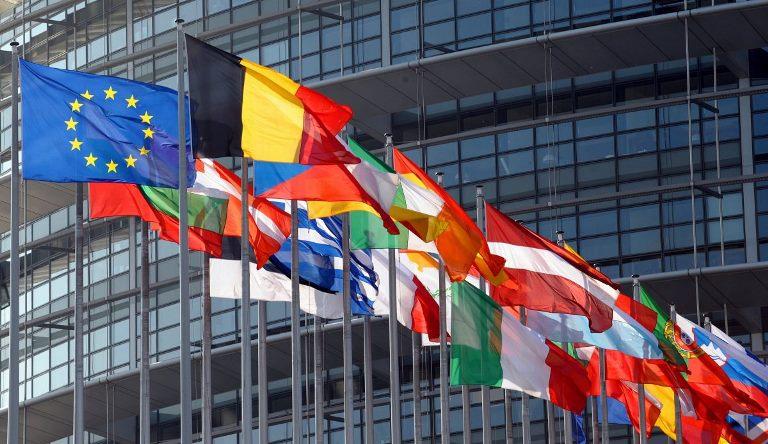 avrupa komisyonu bayrakları european commision flags