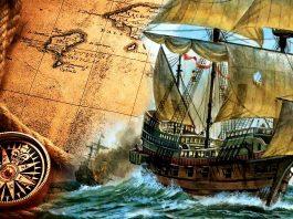 Cesur denizcilerin çağı eski gemiler macellan vasko de gama kolomb