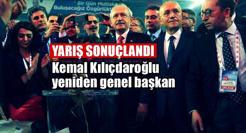 CHP Kurultayı: Kemal Kılıçdaroğlu yeniden genel başkan