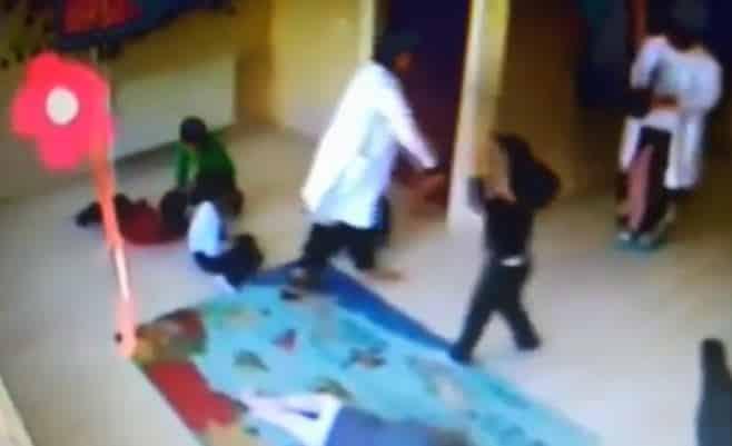 Kreşte dans ederken çocukları döven öğretmenler samsun çarşamba anaokul