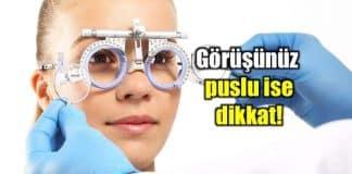 Puslu görüntü görüş sebebi sarı nokta hastalığı olabilir!