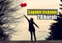 Sağlıklı ilişki için dikkat edilmesi gereken 28 kural hande akın aşk ol kitabı