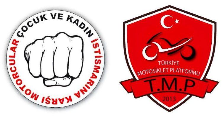 Türkiye Motorsiklet Platformu (TMP) çocuk ve kadın istismarına karşı bildiri cinsel istismar taciz tecavüz 115 hamile çocuk