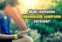 Yolda akıllı telefon kullanmak ne kadar tehlikeli? tükenmişlik sendromu
