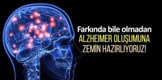 Alzheimer hastalığına zemin hazırlayan etkenler neler?