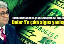 Cemil Ertem: Dolar 4 liraya çıktı algısı yanlış