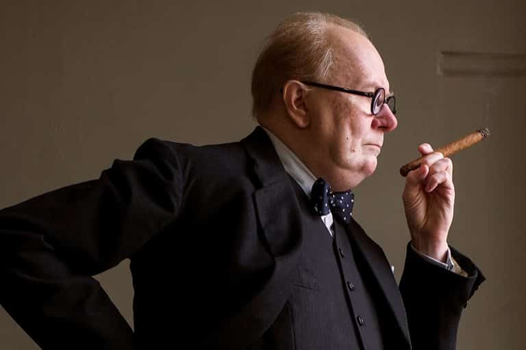 Gary Oldman, Darkest Hour filminde Winston Churchill rolünde