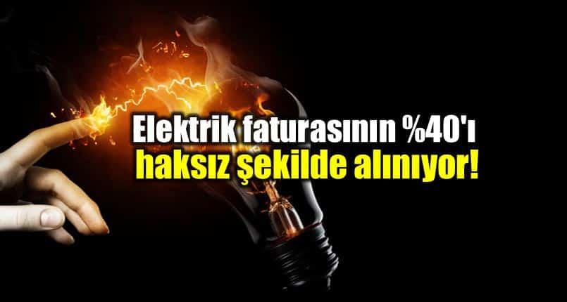Elektrik faturası kayıp kaçak bedeli yüzde 40 haksız haluk pekşen chp