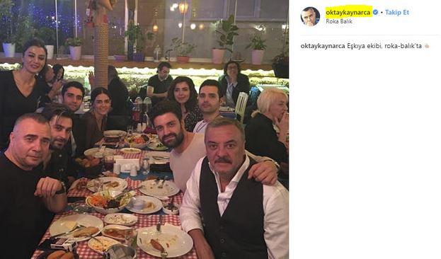 Eşkıya Dünyaya Hükümdar Olmaz oyuncularının masada rakı saklaması sosyal medyada ti'ye alındı