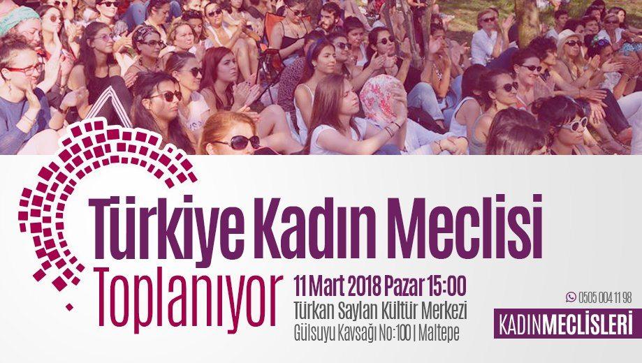 türkiye kadın meclisi toplanıyor