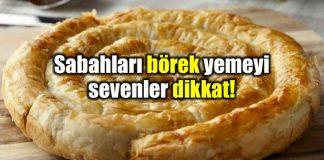 Kahvaltı hem sağlık hem de mutluluk kaynağı! börek poğaça patates