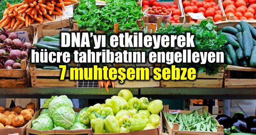 DNA etkileyen sebzeler: Lahana, sarımsak, brokoli, pazı, tere