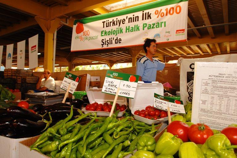 organik ürünler pazarı