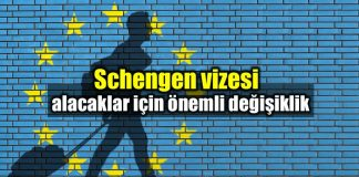 Schengen vizesi almak daha kolay hale geliyor!