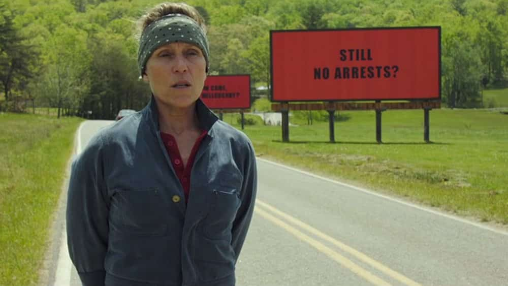 Frances McDormand, Three Billboards Outside Ebbing Missouri