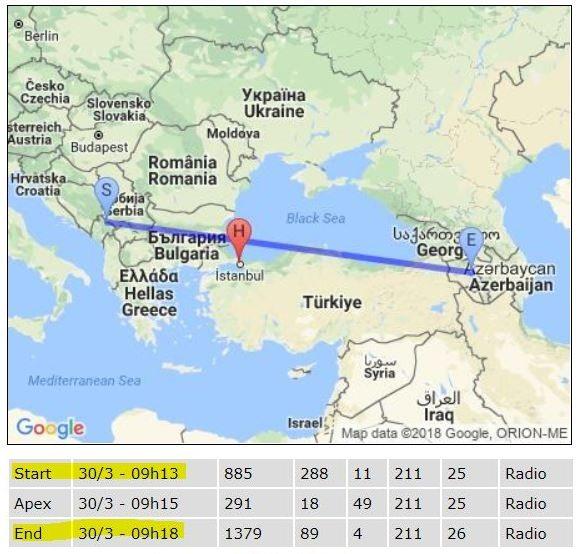 tiangong türkiye geçiş saatleri harita istanbul
