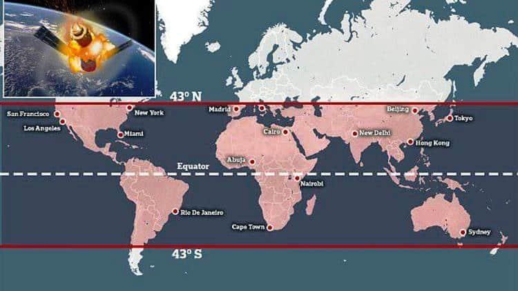 Tiangong-1 nereye düşecek?