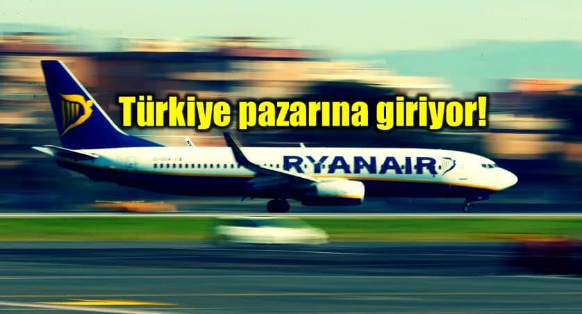 Ucuz havayolu Ryanair ile Dalaman Dublin ve Bratislava seferleri