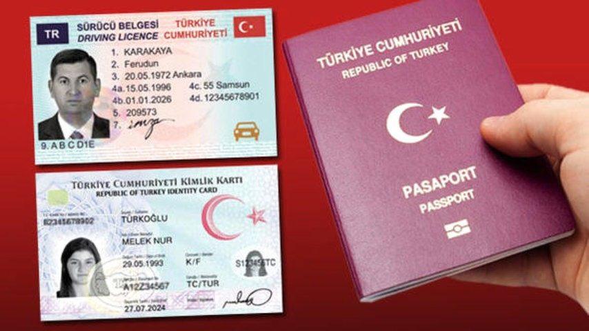 yeni ehliyet sürücü belgesi pasaport başvuru yenileme işlemleri