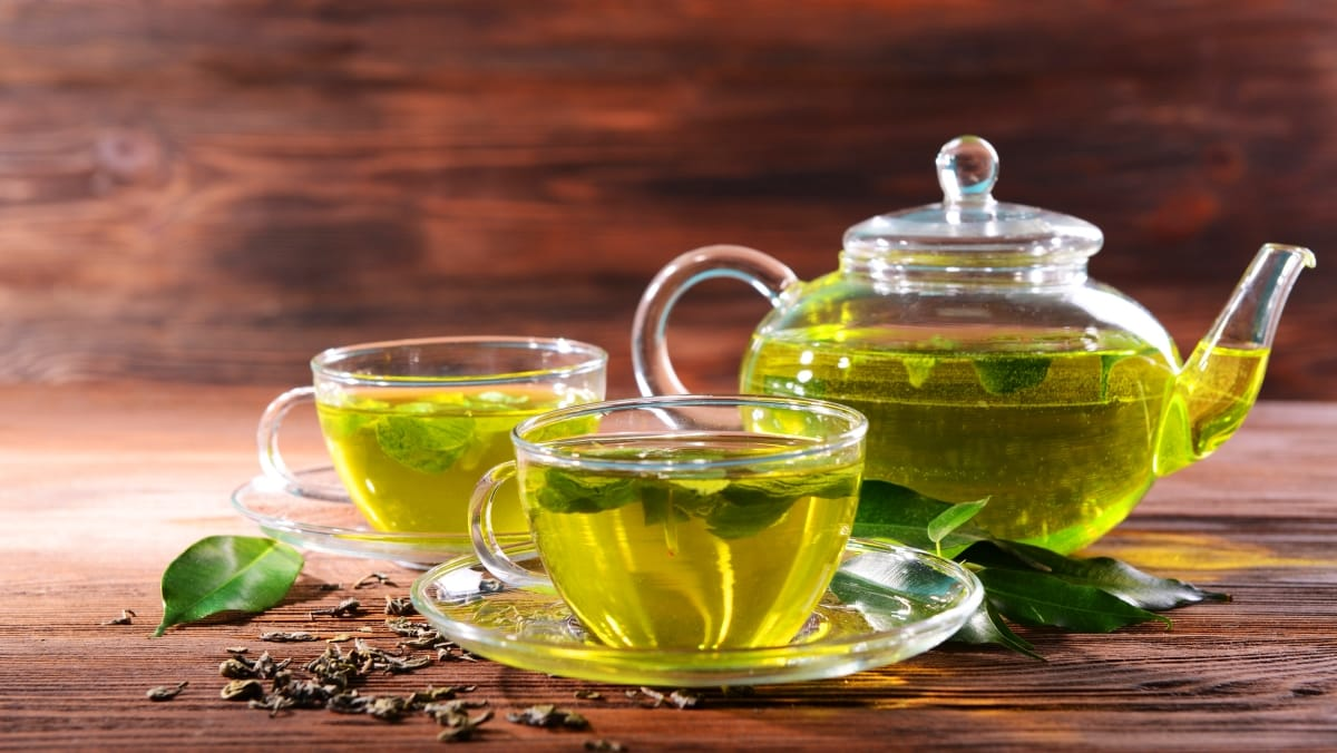 Yeşil çay ağız ve diş sağlığına iyi geliyor!