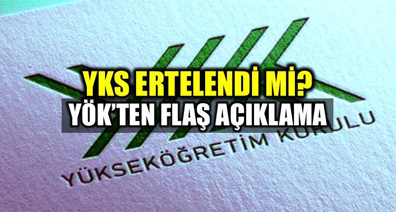 24 Haziran YKS 30 Haziran - 1 Temmuz 2018 ertelendi erken seçim