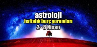 Astroloji: 2 - 8 Nisan 2018 haftalık burç yorumları